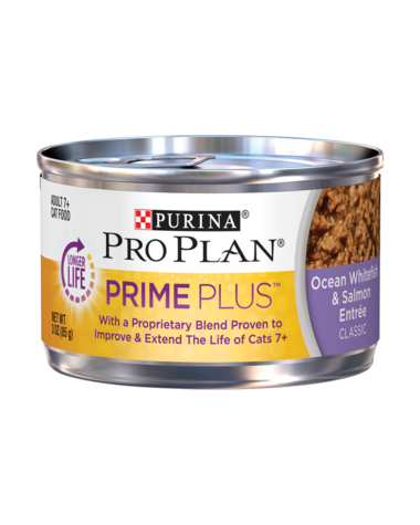 Pro Plan Prime Plus Ocean Whitefish & Salmon Cat Food