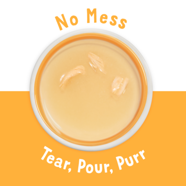 No mess Tear and Pour