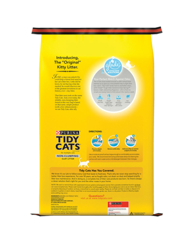 Tidy Cats Non-Clumping Glade Litter