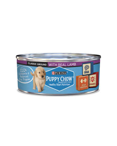 Purina Puppy Chow Wet Puppy Food With Real Lamb
