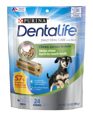 DentaLife Daily Oral Care Mini Chew Treats for Small Dogs ...