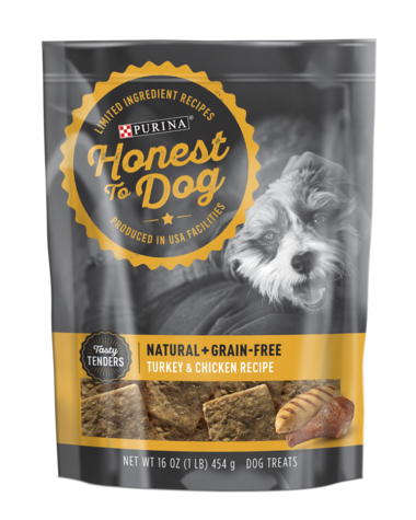 Honest To Dog Tasty Tenders Turkey And Chicken Recipe Dog Treats