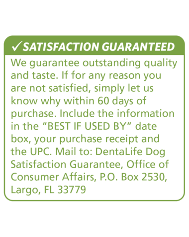 dentalife-dog-product-satisfaction-guarantee