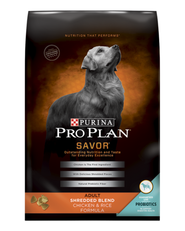 purina pro plan shredded chicken reviews