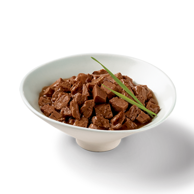 Sliced-beef-in-gravy-plated