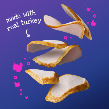 made with real turkey