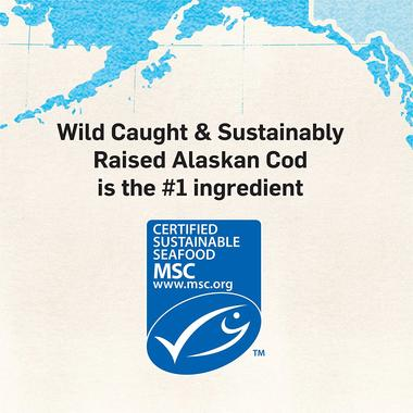 Wild-caught-and-sustainably-raised-alaskan-cod-is-the-#1-ingredient-MSC