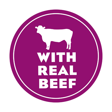 Moist & Meaty with Real Beef Icon