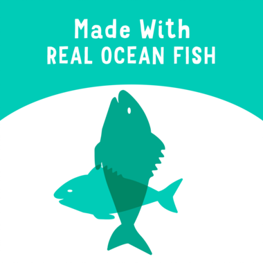 made with real ocean fish