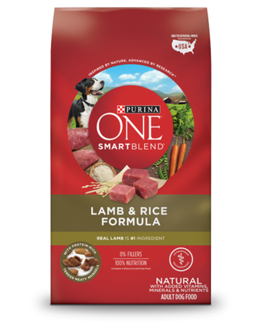 Purina One Lamb Rice Dog Food Purina