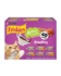 Friskies Gravy Pleasers Poultry Wet Cat Food Variety Pack 48 Count