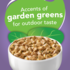 accents of garden greens for outdoor taste