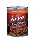 Alpo Chop House® Filet Mignon & Bacon Flavors Cooked in Savory Juices
