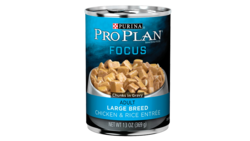 Focus Adult Large Breed Chicken & Rice Entrée Chunks In Gravy